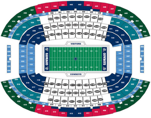 cotton bowl seat map