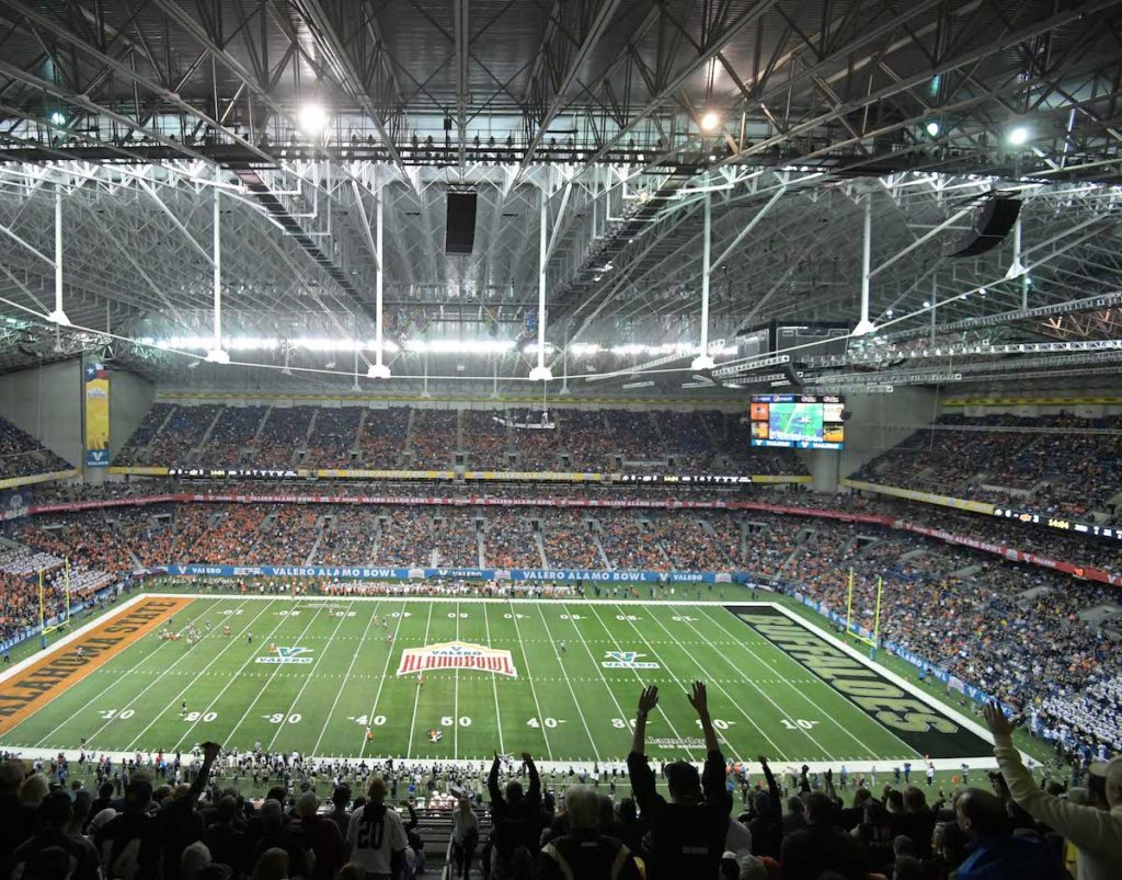 ALAMO BOWL TRAVEL PACKAGE