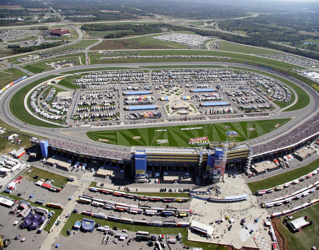 KANSAS NASCAR TRAVEL PACKAGE
