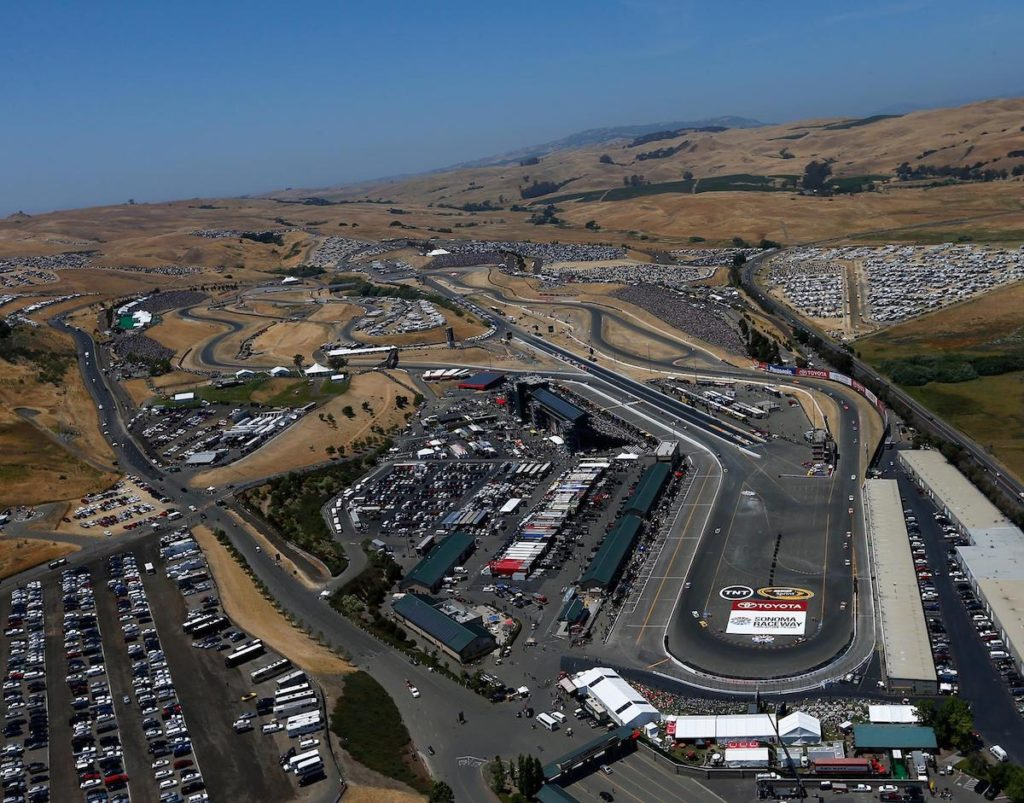 SONOMA NASCAR TRAVEL PACKAGE