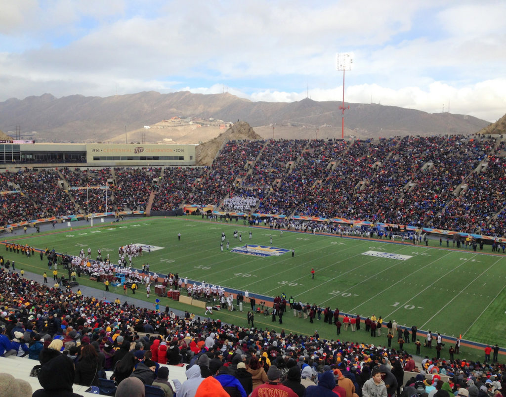 SUN BOWL TRAVEL PACKAGE