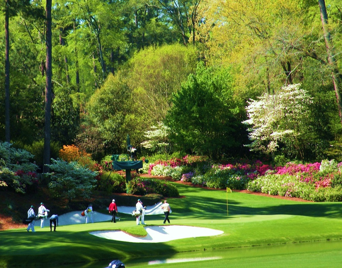 Masters Golf Travel Package