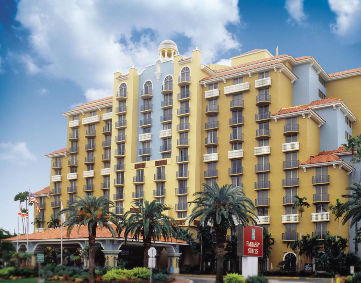 Super Bowl Hotels - Embassy Suites Ft Lauderdale
