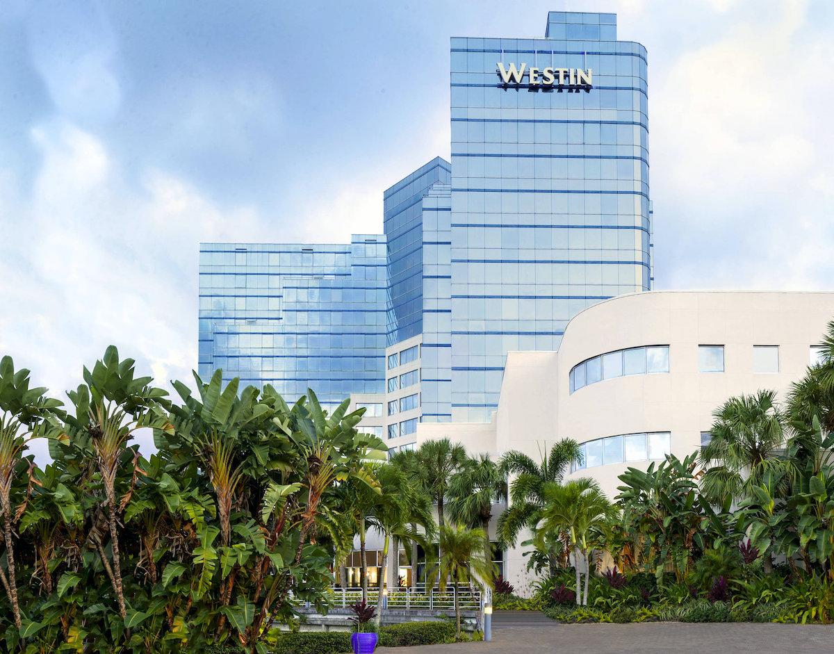 Super Bowl Hotels - Westin Ft Lauderdale