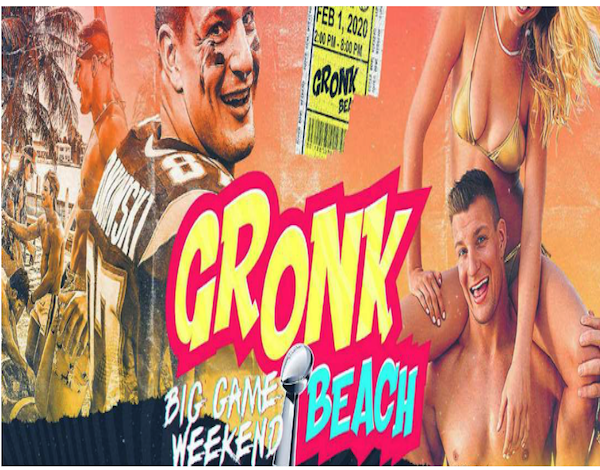 Super Bowl Party - Gronk Beach Party