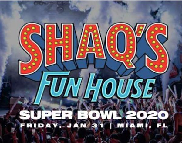 Super Bowl Party -Shaqs Funhouse